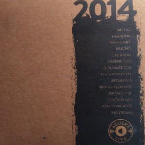 14 - 2015 - Recopilatorio AGUERE LIVE