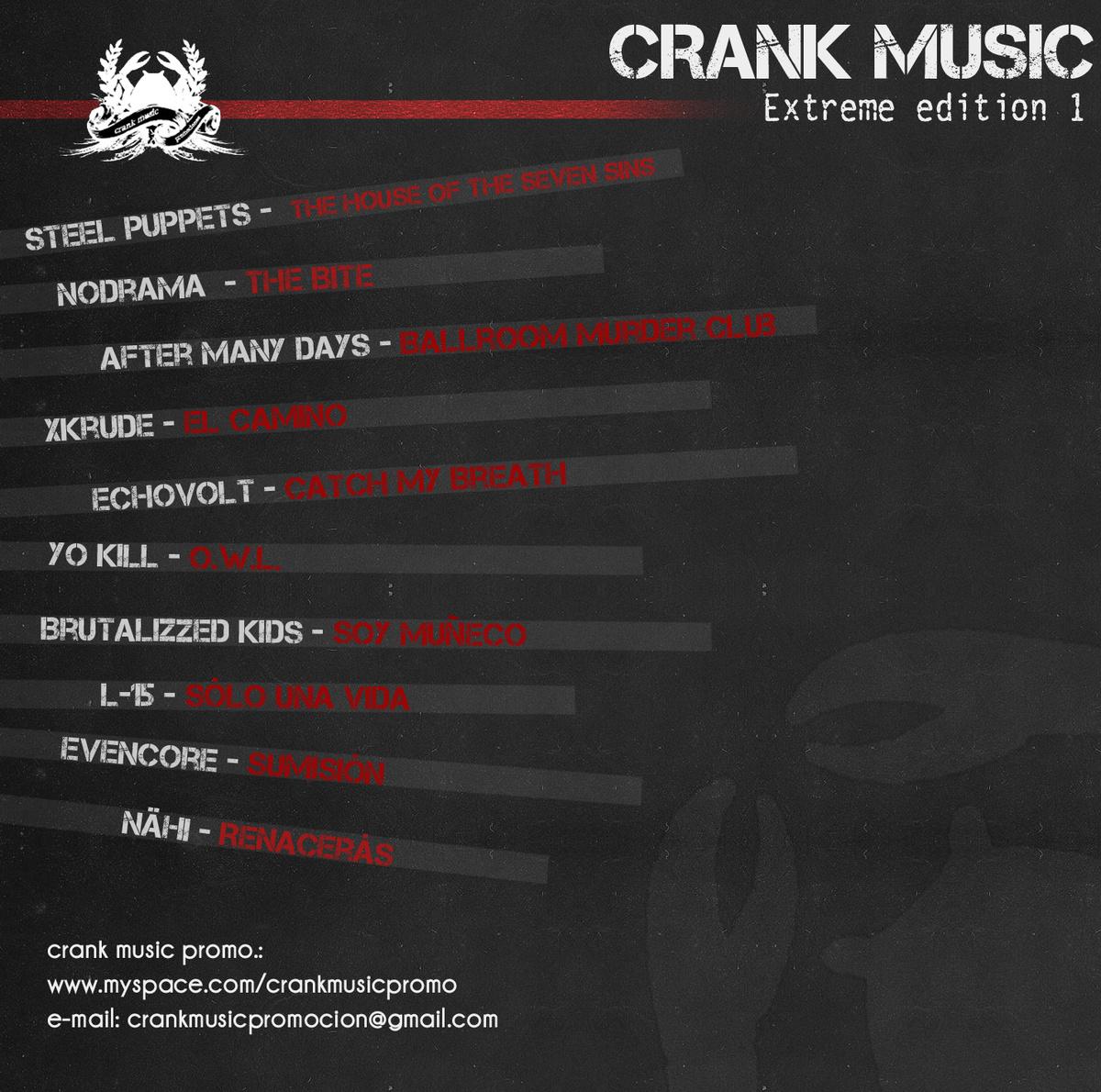 6 - 2010 -Recopilatorio CRANK MUSIC